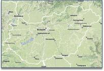 sétarepülés térkép