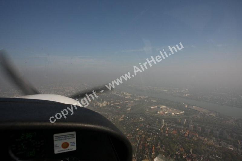 2008 október Bp. városnézés/köd-pára rossz látás: ködös budapest