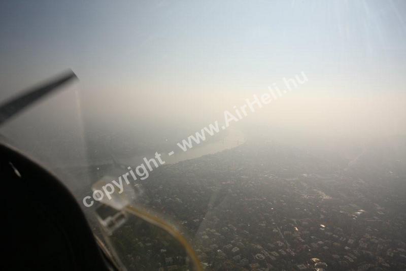 2008 október Bp. városnézés/köd-pára rossz látás: nagy a pára