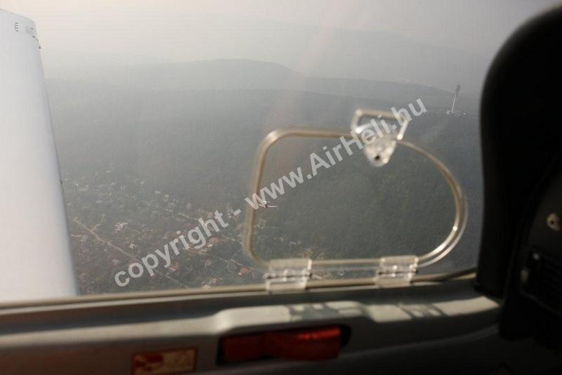 2008 október Bp. városnézés/köd-pára rossz látás: forgalom