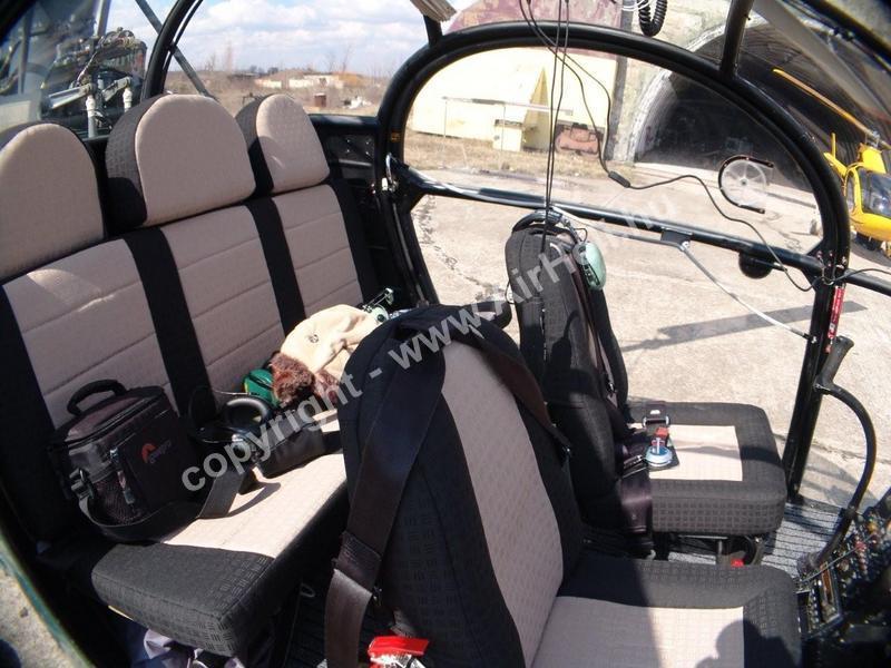2009.03.21. Budapest körül: Alouette II cocpit