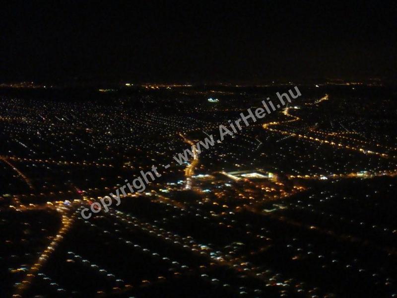 2008. november Budapest éjszakai repülés: