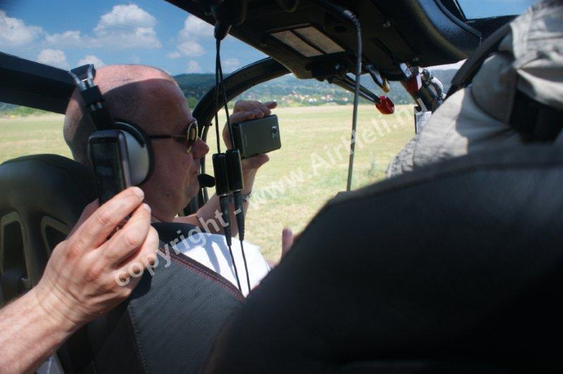 Budapest helikopteres sétarepülés, 2011. június: