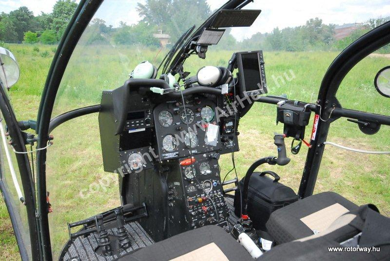 helikopter utastér