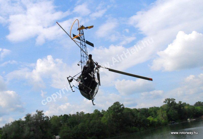 Helikopteres városnézés, 2010. május Ajándék utalvány: ajándék repülés