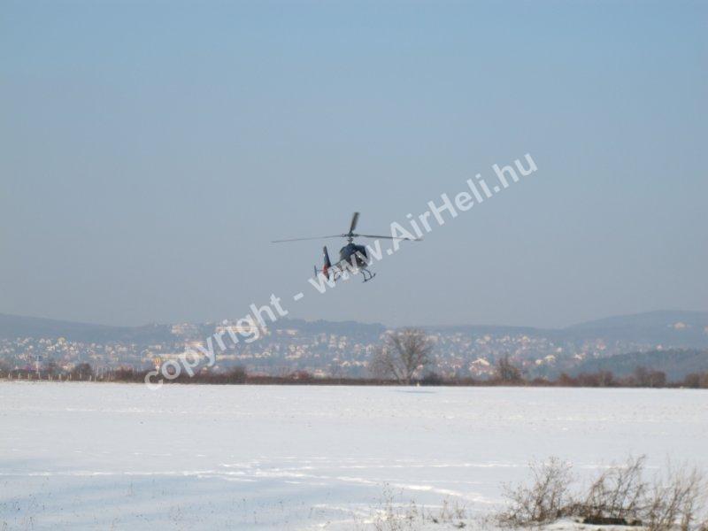 2011 Januári helikopter sétarepülés: Gazelle helicopter SA 341G
