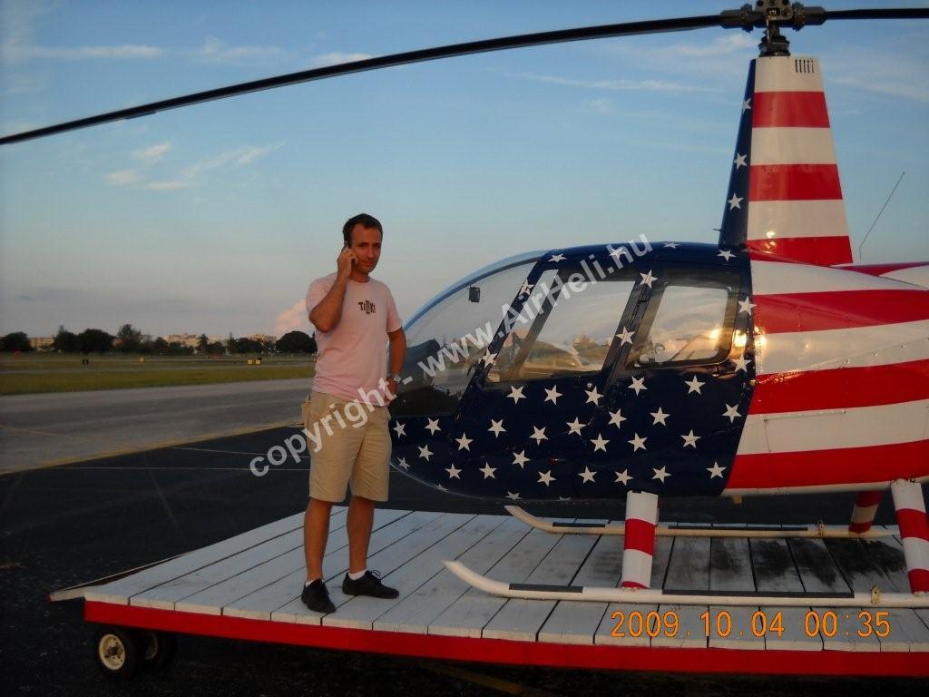 2009. október - Florida: R44 USA