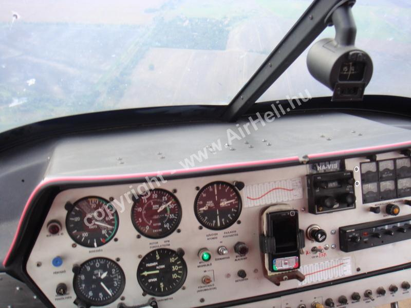 2008.09.27. Heli repülés - Soltvadkert: Enstrom 28f