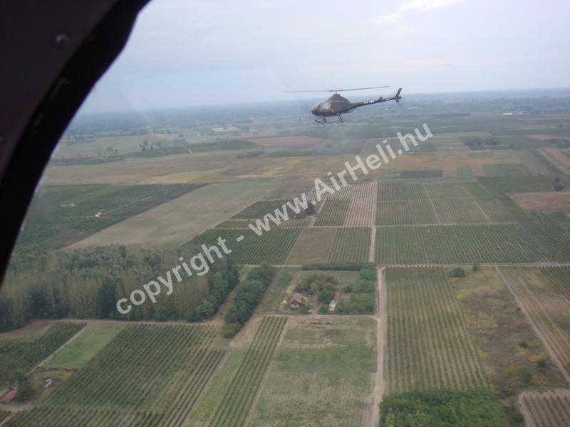 2008.09.27. Heli repülés - Soltvadkert: Rotorway