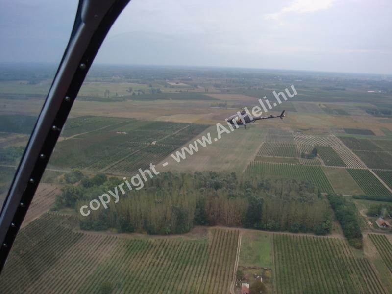 2008.09.27. Heli repülés - Soltvadkert: Rotorway Exec 162f