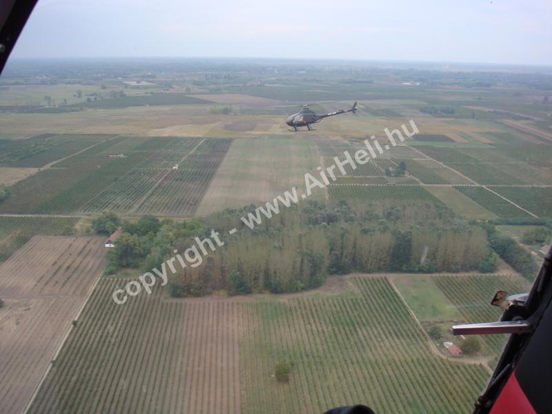 2008.09.27. Heli repülés - Soltvadkert: Exec 162f flying