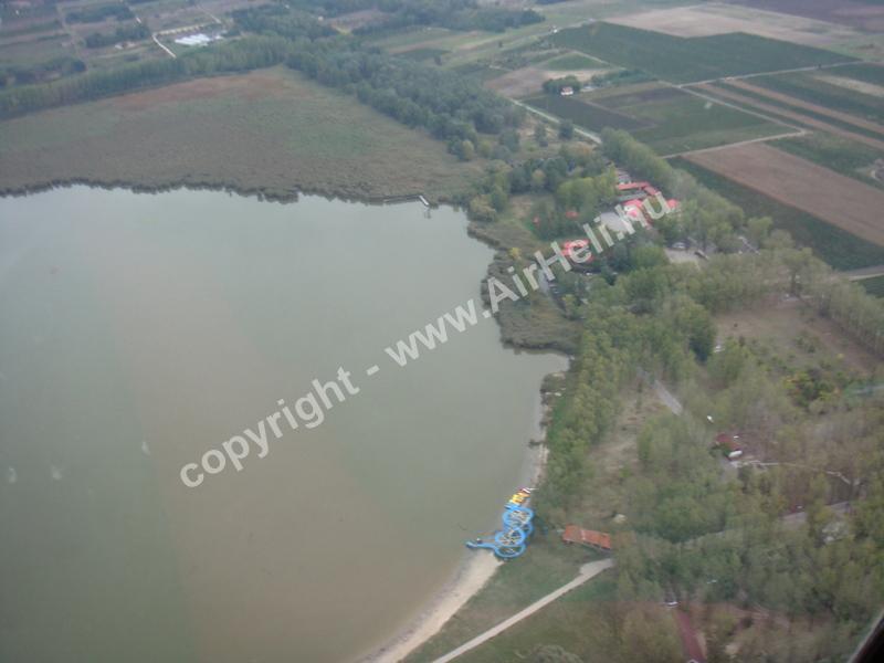 2008.09.27. Heli repülés - Soltvadkert: Soltvadkerti tó
