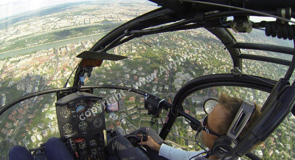 Alouette helikopteres sétarepülés, 2014. június:
