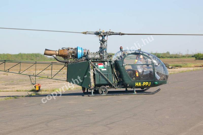 Drag Bike EB, Kunmadaras, 2010: helikopter