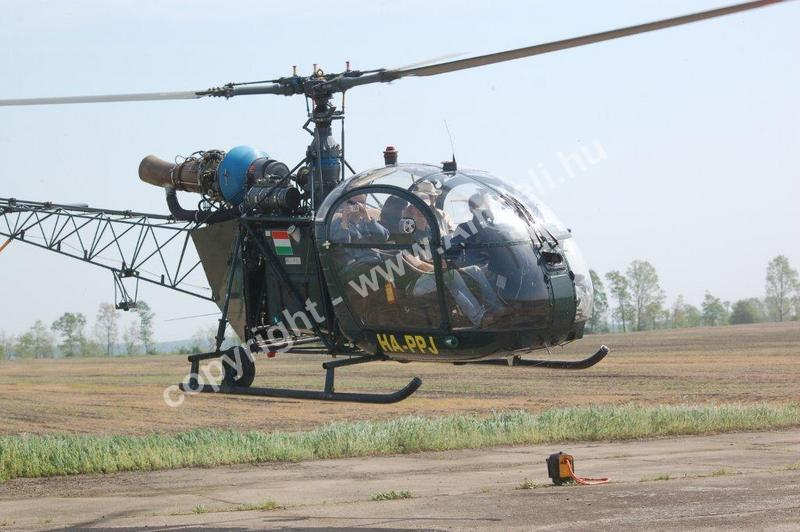 Drag Bike EB, Kunmadaras, 2010: helikopter