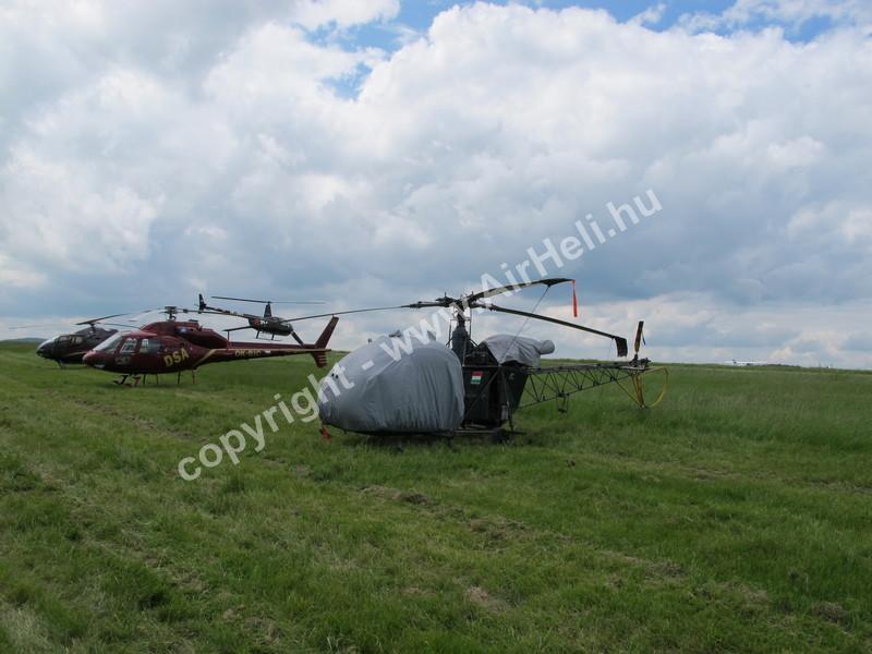 Prága: Helikopter parkoló