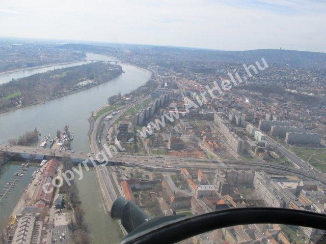 2010.03. Prestige Heliport: Sétarepülés Budapest