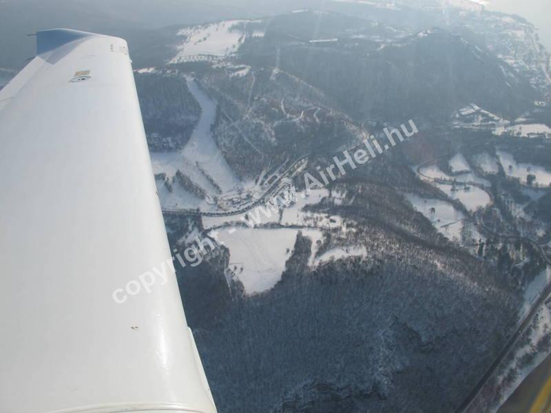 2010.02. Visegrád Télen: Diamond DA40 TDI