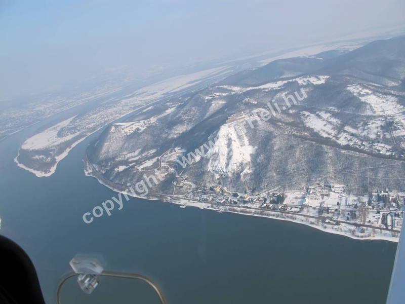 2010.02. Visegrád Télen: Dunakanyar