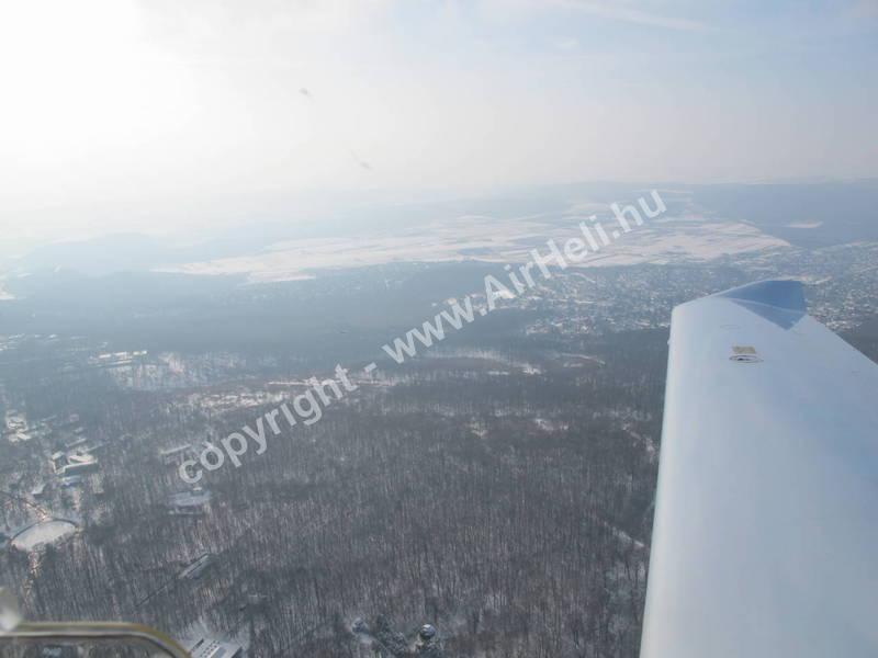 2010.02. Visegrád Télen: Sétarepülés