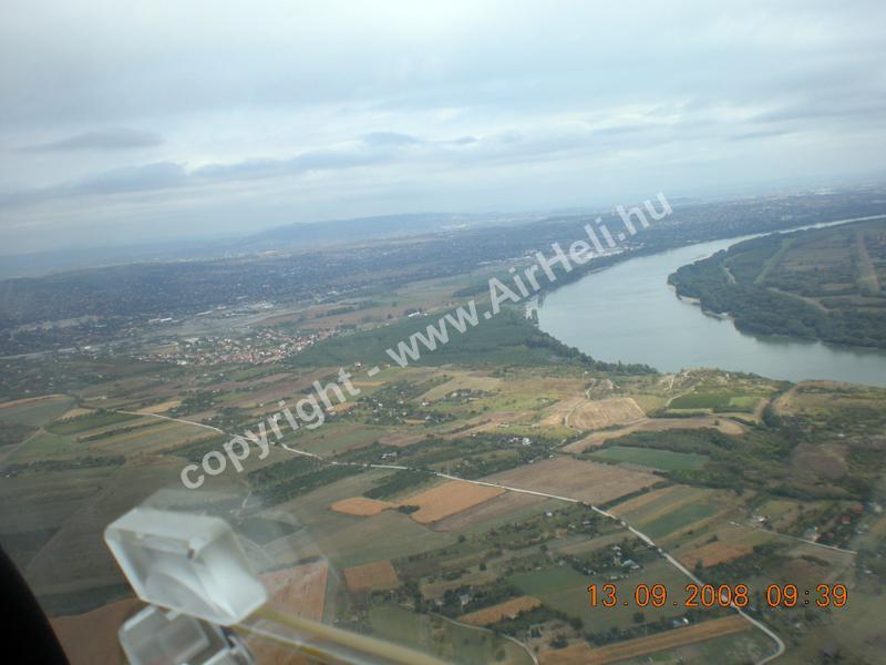 2008.09.14. Velencei-tó: A Duna felé repülve