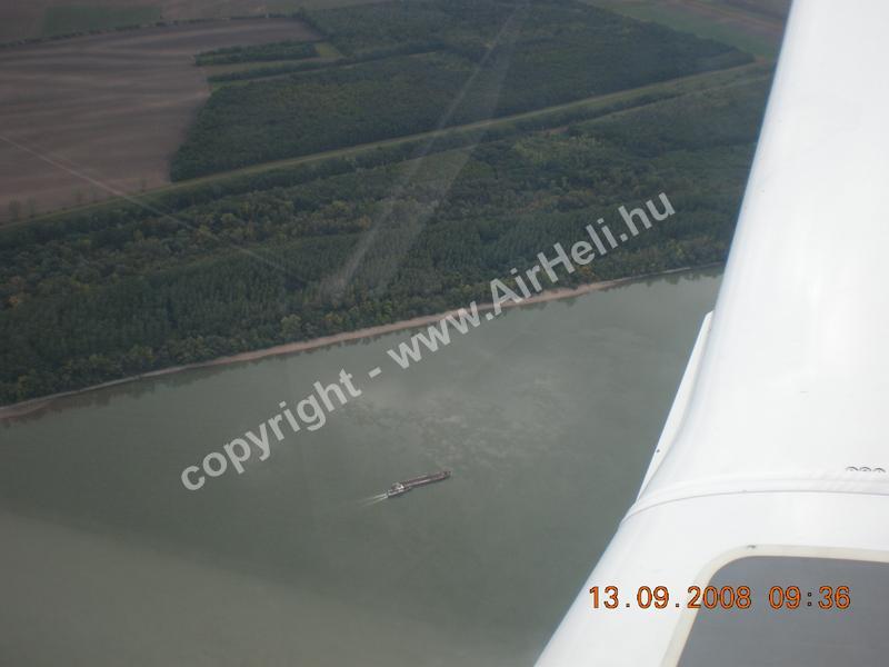 2008.09.14. Velencei-tó: A Duna felülről