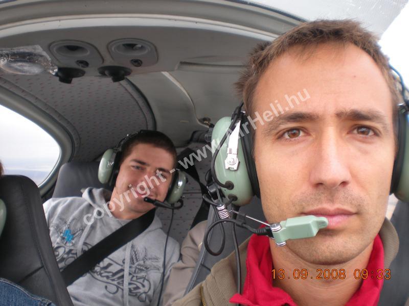 2008.09.14. Velencei-tó: A pilóta
