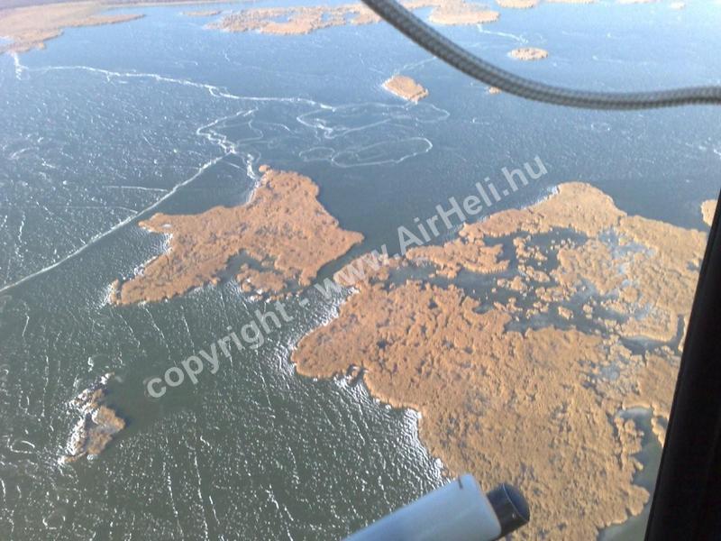Velencei tó télen