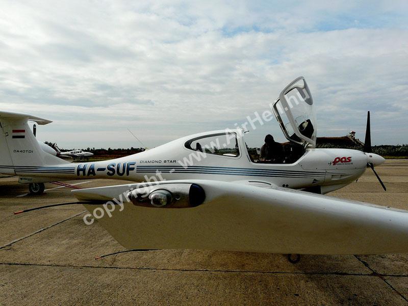2008.09.14. Visegrád: Repülő előkészítve