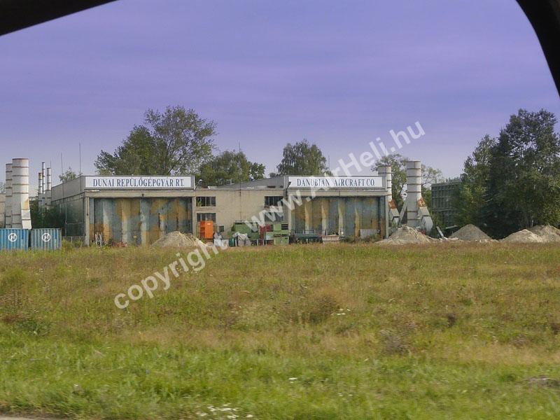 2008.09.14. Visegrád: A hangár