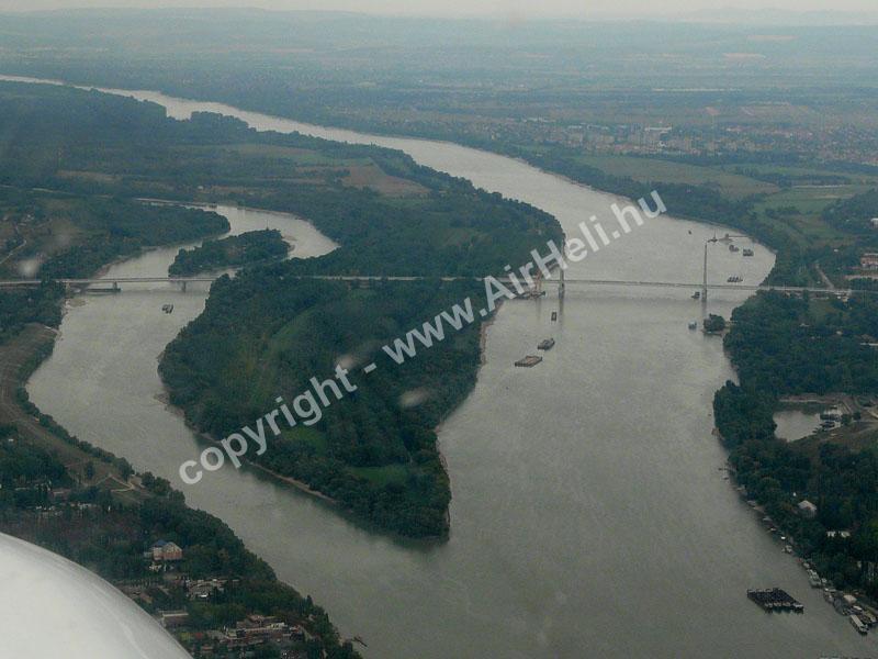 2008.09.14. Visegrád: M0 Megyeri híd