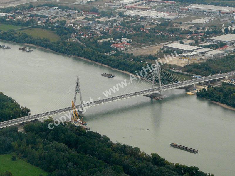 2008.09.14. Visegrád: A megyeri híd