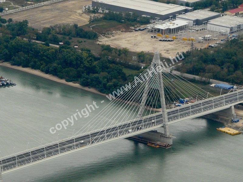 2008.09.14. Visegrád: A megyeri híd közelebbről
